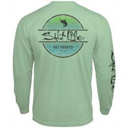 Salt Life Mens Marlin Get Hooked Long Sleeve T-Shirt