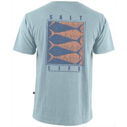 Salt Life Mens Optic Tails Short Sleeve T-Shirt