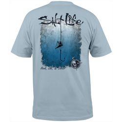Salt Life Mens Hook, Line and Sinker Pocket T-Shirt