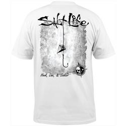 Mens Hook Line and Sinker Logo T-Shirt