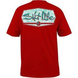 Salt Life Mens Water Fix Short Sleeve T-Shirt