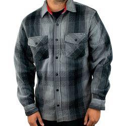 PELAGIC Mens Quest Performance Flannel Button Down Shirt