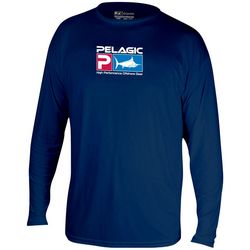PELAGIC Mens Aquatek Logo Shirt
