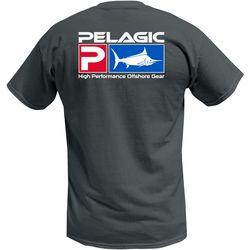 PELAGIC Mens Deluxe Logo Classic T-Shirt