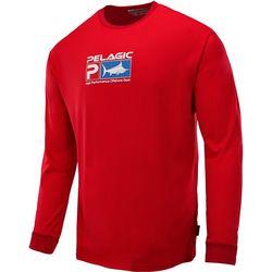 PELAGIC Mens Aquatek Logo Shirt