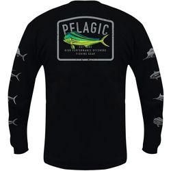 PELAGIC Mens Gamefish Dorado Long Sleeve Shirt