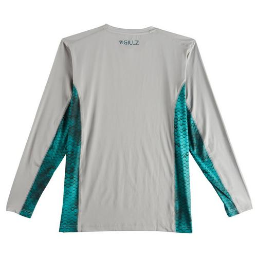 Gillz Mens Extreme Scales Long Sleeve Shirt