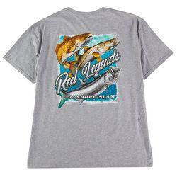 Reel Legends Mens Rough Frame Graphic T-Shirt
