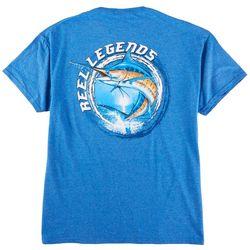 Reel Legends Mens Billfish Graphic T-Shirt