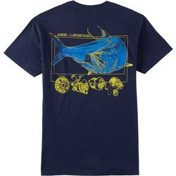 Reel Legends Mens Flat Water Titan Short Sleeve T-Shirt