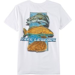 Reel Legends Mens Seaside Slam Short Sleeve T-Shirt