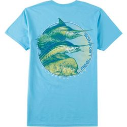 Reel Legends Mens Big Catch Short Sleeve T-Shirt