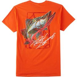 Reel Legends Mens Snook Short Sleeve T-Shirt