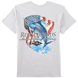 Reel Legends Mens US Marlin T-Shirt