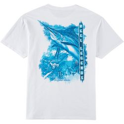 Reel Legends Mens Marlin Short Sleeve T-Shirt