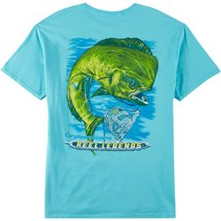 Reel Legends Mens Mahi Mahi Short Sleeve T-Shirt