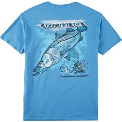 Reel Legends Mens Short Sleeve Snook T-Shirt