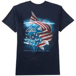 Reel Legends Mens American Redfish T-Shirt
