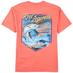 Reel Legends Mens Full Sail T-Shirt