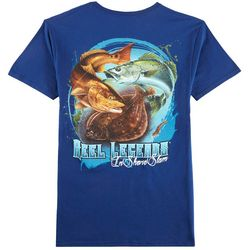 Reel Legends Mens 3's A Charm T-Shirt