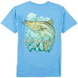 Reel Legends Mens Snook Waters T-Shirt