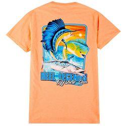 Reel Legends Mens Short Sleeve Offshore Slam T-Shirt