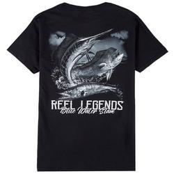 Mens Blue Water Slam T-Shirt