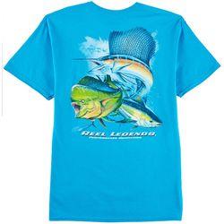 Reel Legends Mens Pure OS T-Shirt