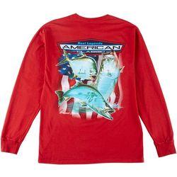 Reel Legends Mens Grand Slam Vision Long Sleeve T-Shirt