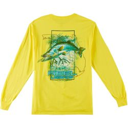 Reel Legends Mens Snook Grove Long Sleeve T-Shirt