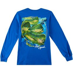 Reel Legends Mens Mahi Rush Long Sleeve T-Shirt