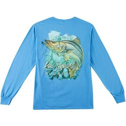 Reel Legends Mens Snook Waters Long Sleeve T-Shirt