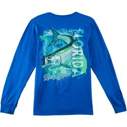 Reel Legends Mens Tarpon Swim Long Sleeve T-Shirt
