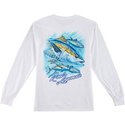 Reel Legends Mens Big Tuna Long Sleeve T-Shirt