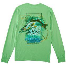 Reel Legends Mens Long Sleeve Snook Grove T-Shirt