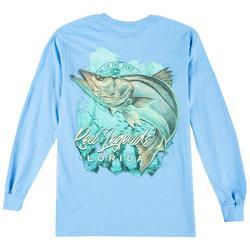 Mens Snook Waters Long Sleeve T-Shirt