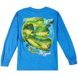 Reel Legends Mens Mahi Rush Long Sleeve T-Shirt
