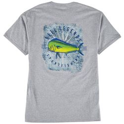 Reel Legends Mens Florida Dorado Graphic T-Shirt