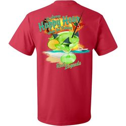 Reel Legends Mens Happy Hour Short Sleeve T-Shirt