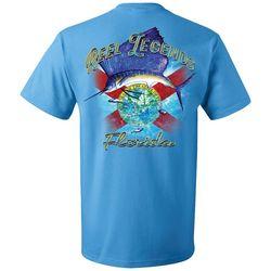 Reel Legends Mens Reel Sailfish Crew Neck T-Shirt
