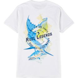 Reel Legends Mens Fin & Games Slam T-Shirt