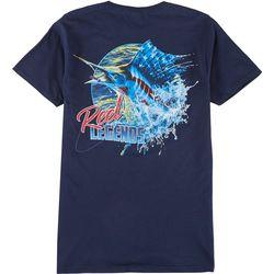 Reel Legends Mens Sailfish Legend T-Shirt