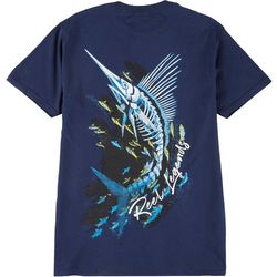 Reel Legends Mens Skeletal Harvey Short Sleeve T-Shirt