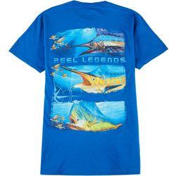 Reel Legends Mens Top 3 Stack Slam T-Shirt