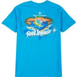 Reel Legends Mens Tag & Release Short Sleeve
