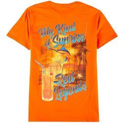 Reel Legends Mens My Kind Of Sunrise T-Shirt