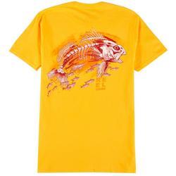 Mens Redfish Skeleton T-Shirt