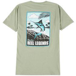 Reel Legends Mens Marlin Poster T-Shirt