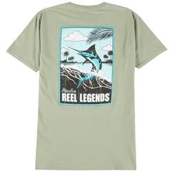 Mens Marlin Poster T-Shirt