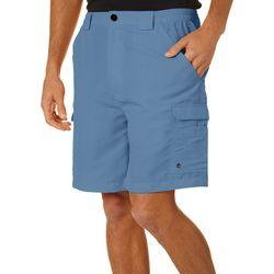 Reel Legends Mens Bonefish UPF 50 Quick Dry Cargo Shorts